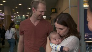 Japanese baby adoptions arrive home